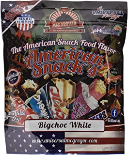 Max Protein American Snacks Harina Avena con Sabores - 1500 gr
