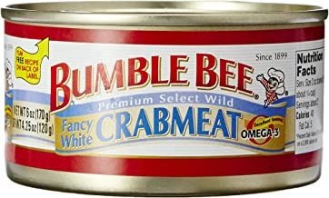 Bumble Bee White Crabmeat, 6 oz