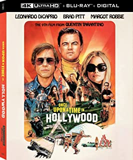 Once Upon A Time In Hollywood   4K Ultra HD + Blu-ray   Arabic Subtitle Included