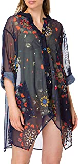 Desigual Top_Sicilia Swimwear Cover Up para Mujer