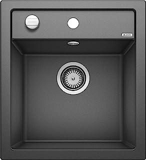 Blanco 铂浪高 厨房水槽 DALAGO 亮黑色 45 cm Unterschrank