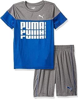 PUMA Little Boys' T-Shirt & Short Set