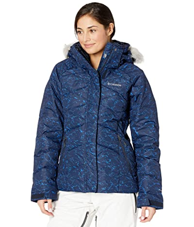 Columbia Lay D Down II Jacket (Dark Nocturnal Crackle Print) Women