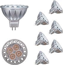 ALIDE MR16 Led Bulbs 5W Replace 20W 35W Halogen Equivalent,2700K Soft Warm White,12V Low Voltage MR16 GU5.3 Bulb Spotlights for Outdoor Landscape Flood Track Lighting,Not Dimmable,450lm,38 Deg,6 Pack