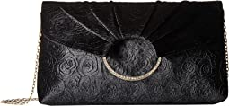 Jessica McClintock - Meadow Burnout Velvet Large Envelope Clutch