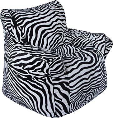 TIMBER CHEESE Bean Bag Sofa Cover XXXL in Black and White