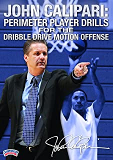 John Calipari: Perimeter Player Drills for the Dribble Drive Motion Offense (DVD)