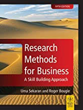 Research Methods For Business : A Skill Building Approach, 5Th Ed