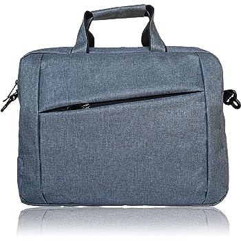 MBW Office Laptop Bag Briefcase Notebook Business 17.1 Inch Briefcase Messenger Sling College Bag Water Resistant Laptop Bag Tablet Business Carrying Handbag for Women and Men (Dark Grey)