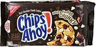 Nabisco Chips Ahoy! Chocolate Chunk Cookies White Fudge Chunky
