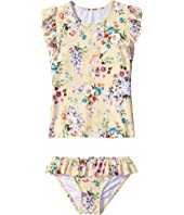 Seafolly Kids - Swan Lake Rashie Set (Infant/Toddler/Little Kids)