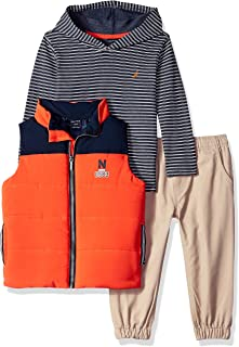 Nautica Baby Boys' 3 Pieces Vest Pants Set