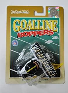 1998 Ertl Collectibles Pittsburgh Steelers NFL Goalline Boppers Diecast Airplane