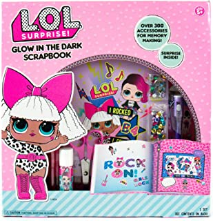 l.o.l. Surprise glow-in-the-darkスクラップブックby HorizonグループUSA