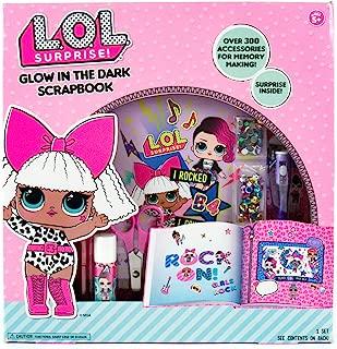 l.o.l. Surprise glow-in-the-darkスクラップブックby HorizonグループUSA