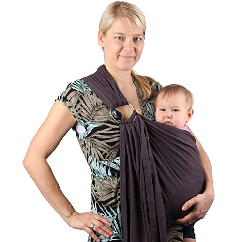 14bee098e78 Neotech Care Baby Sling Carrier - Cotton - with Rings Adjustment - for  Infant