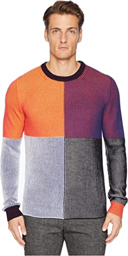 Color Block Pullover