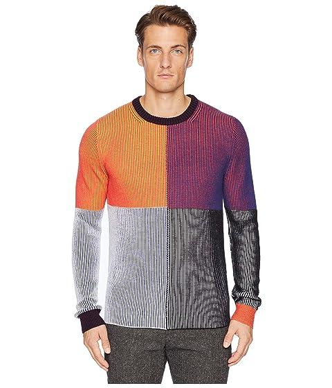 Paul Smith Color Block Pullover