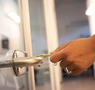 Utensile a uncino apriporte e finestre senza contatto Utile per ascensore bancomat treno autobus metropolitana Mani libere...
