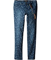 Lucky Brand Kids - Printed Zoe Jeans in Dark Indigo (Big Kids)