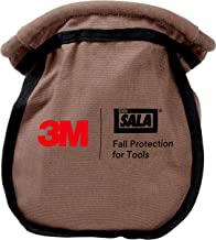 3M DBI-SALA Fall Protection For Tools,1500120,Small Parts Pouch Makes It Nearly Impossible For Objects To Fall Out,No Opening/Closing Necessary, Canvas Camo Tan