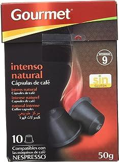 Gourmet - Capsulas de café - Intenso natural - 10 capsulas