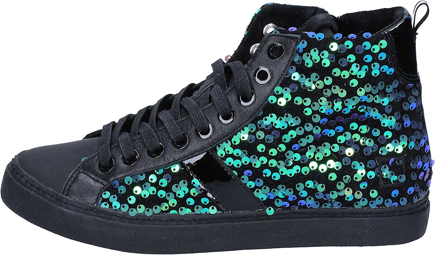 D.A.T.E. (DATE) Fashion-Sneakers Womens Black