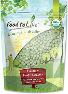 Organic Sprouting Green Peas by Food to Live — 1 Pound