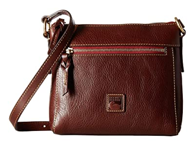 Dooney & Bourke Florentine Classic Allison Crossbody (Chestnut/Self Trim) Cross Body Handbags
