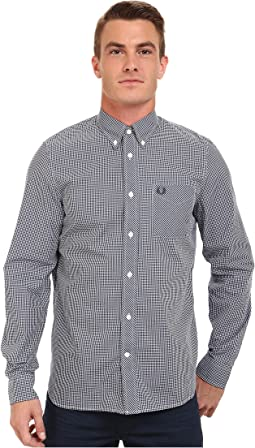 Fred Perry Long Sleeve Classic Gingham Shirt