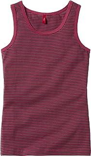 s.Oliver 2er Pack Unterhemd Hemd Tanktop grau gestreift