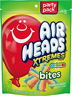 Airheads Xtremes Bites, Rainbow Berry, Party, Stand Up Bag, 30.4 oz