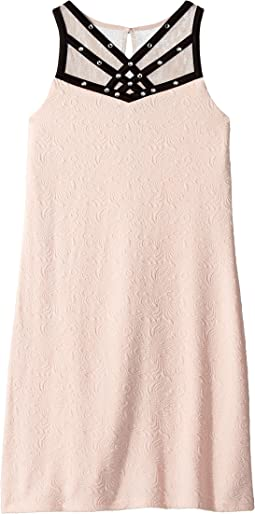 Us Angels Sleeveless Textured Knit Sheath Dress (Big Kids)