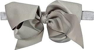 ES Kids Bow Headband - silver, Silver