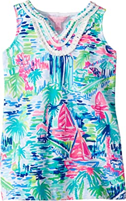 Lilly Pulitzer Kids Mini Harper Shift Dress (Toddler/Little Kids/Big Kids)