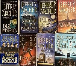 Jeffrey Archer Thriller Novel Collection 8 Book Set