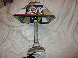 Ed's Variety Store Vintage 1970's Looney Tunes Cartoon Characters Desk Lamp