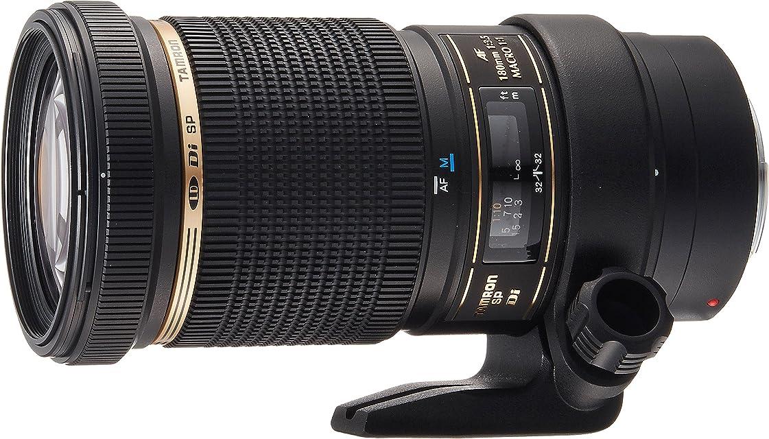 Tamron B01E SP AF 180 mm F/3.5 Di LD (IF) Macro 1:1 - Objetivo para Canon (Distancia Focal Fija 180mm Apertura f/3.5 Macro diámetro: 72mm) Negro