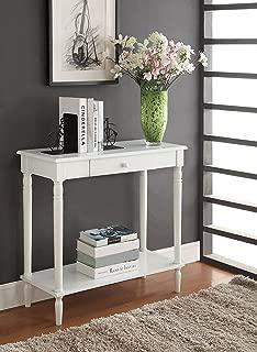 salem half moon console cabinet