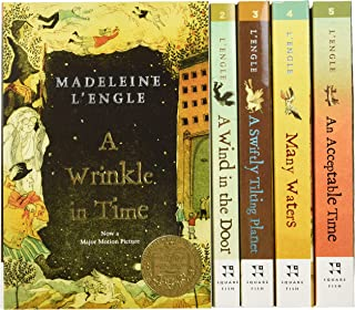 The Wrinkle in Time Quintet Boxed Set (A Wrinkle in Time, A Wind in the Door, A Swiftly Tilting Planet, Many Waters, An Ac...