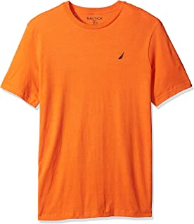 Nautica Mens Q61303 Big and Tall Pacific Public House Graphic T-Shirt T-Shirt - Orange