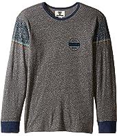 VISSLA Kids - Striker Long Sleeve Tri-Blend Knit (Big Kids)