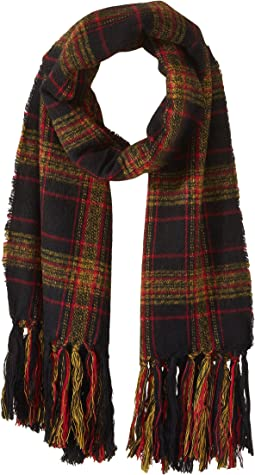 Steve Madden - New England Plaid Blanket Wrap