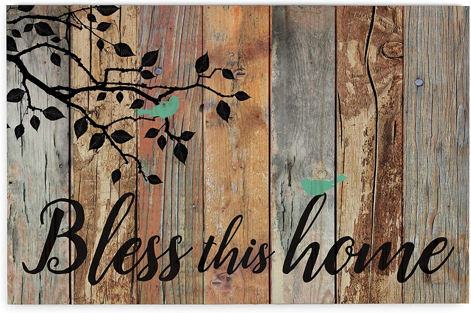 P. Graham OFFer Dunn Bless This Sale item Home Birds Design x 25 Distressed 16 I