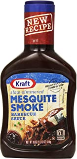 Kraft Slow Simmered Mesquite Barbecue Sauce (18 oz Bottles, Pack of 12)