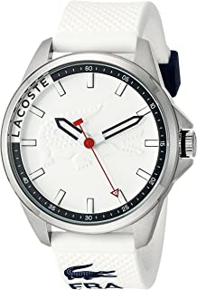 Lacoste Men's 2010841 Capbreton Analog Display Japanese Quartz White Watch