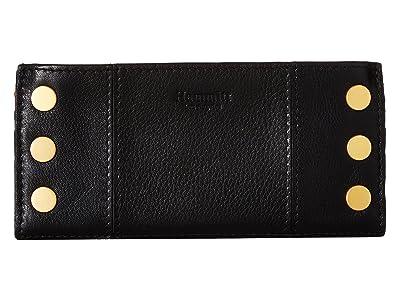 Hammitt 110 North (Black/Brushed Gold) Handbags