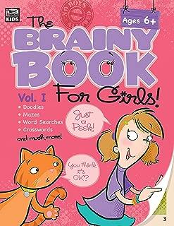 Brainy Book for Girls, Volume 1 Activity Book, Grades 1 - 4 (Brainy Books)
