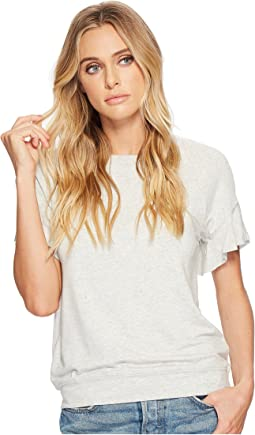 Elevated French Terry Flutter Sleeve Tee