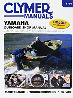 Yamaha Outboards 2-90 hp Two-strokes 1999-2009 (Clymer Marine)